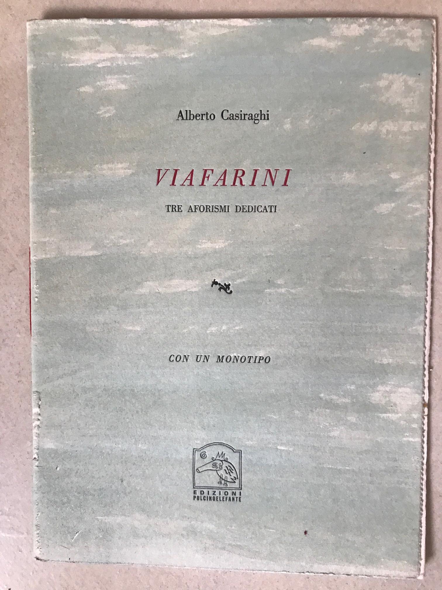 Alberto  Casiraghi Edizioni Pulcino Elefante